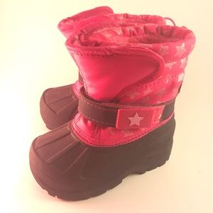 ATHLETEC Winter Boots For Girls, pink, Size 6